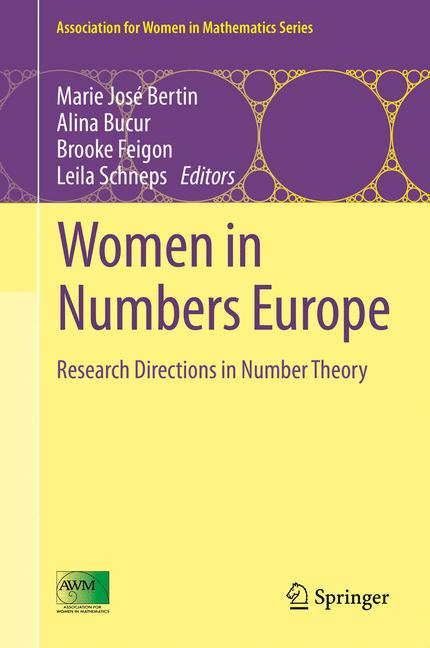 Cover of 'Women in Numbers Europe'