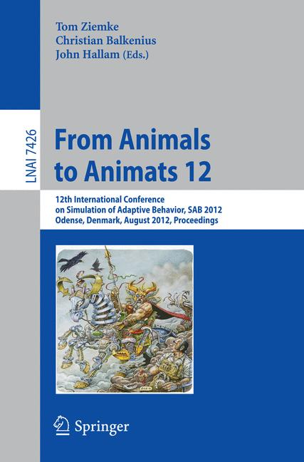 Cover of 'From Animals to Animats 12'