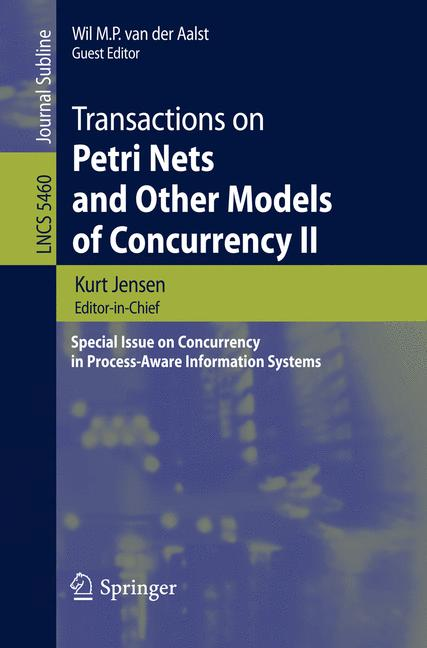 Cover of 'Transactions on Petri Nets and Other Models of Concurrency II'