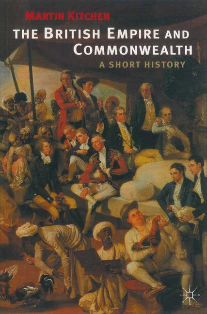 Cover of 'The British empire and commonwealth : a short history'
