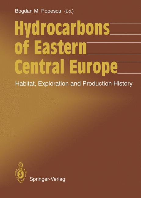 Cover of 'Hydrocarbons of Eastern Central Europe'