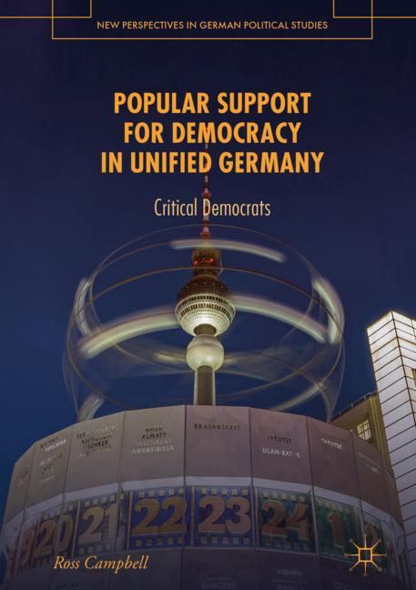 Cover of 'Popular Support for Democracy in Unified Germany'