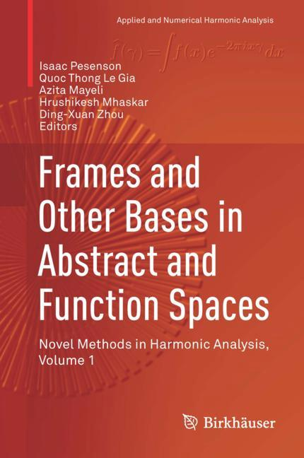 Cover of 'Frames and Other Bases in Abstract and Function Spaces'