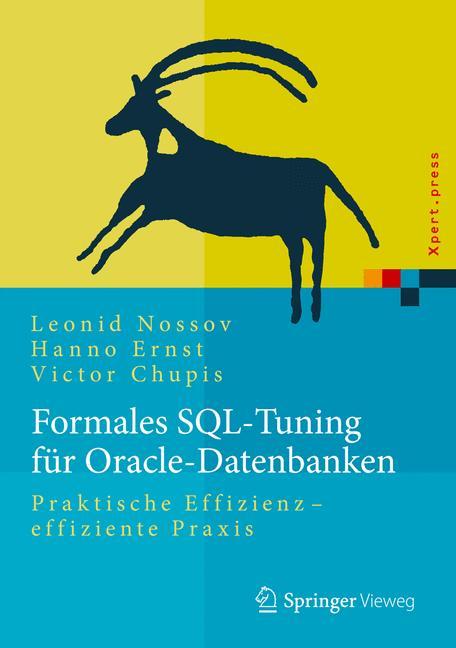Cover of 'Formales SQL-Tuning für Oracle-Datenbanken'