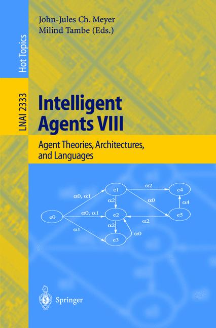 Cover of 'Intelligent Agents VIII'