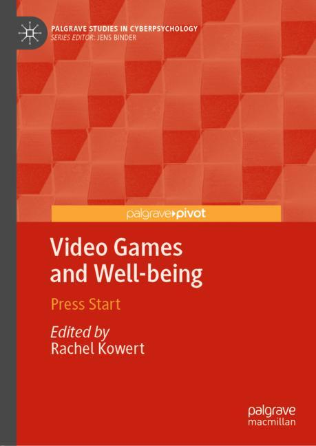 Cover of 'Video Games and Well-being'