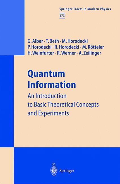 Cover of 'Quantum Information'