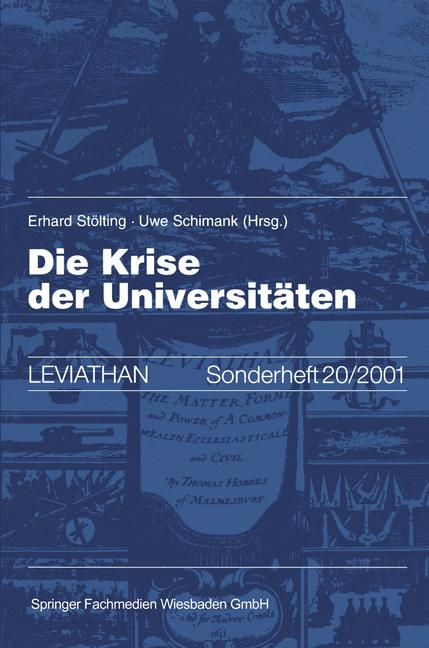 Cover of 'Die Krise der Universitäten'