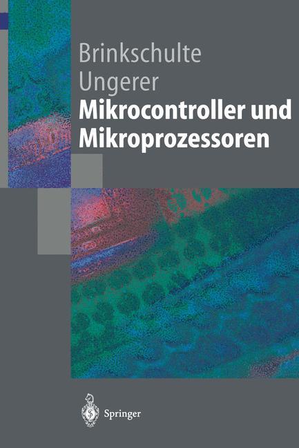 Cover of 'Mikrocontroller und Mikroprozessoren'
