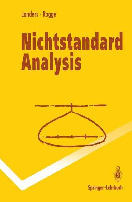 Cover of 'Nichtstandard Analysis'