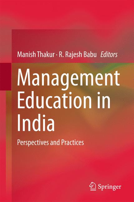 Cover of 'Management Education in India'