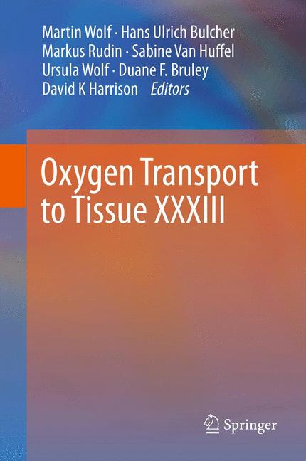 Cover of 'Oxygen Transport to Tissue XXXIII'