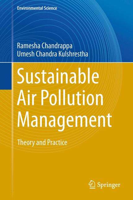 Cover of 'Sustainable Air Pollution Management'