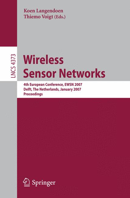 Cover of 'Wireless Sensor Networks'