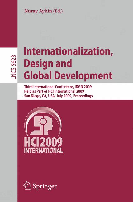 Cover of 'Internationalization, Design and Global Development'