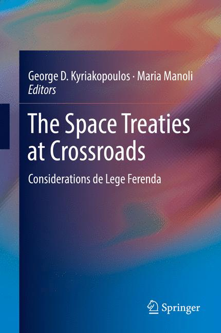 Cover of 'The Space Treaties at Crossroads'