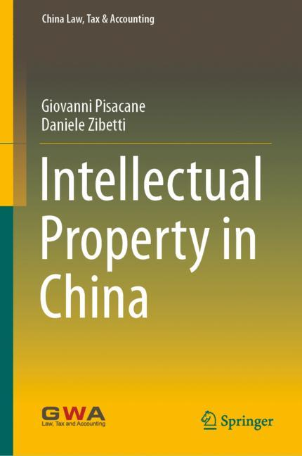 Cover of 'Intellectual Property in China'