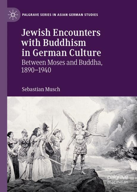 Cover of 'Jewish Encounters with Buddhism in German Culture'