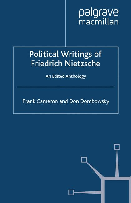 Cover of 'Political Writings of Friedrich Nietzsche'