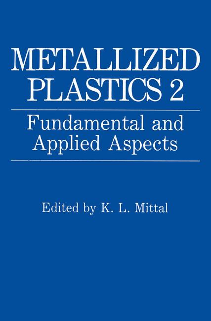 Cover of 'Metallized Plastics 2'