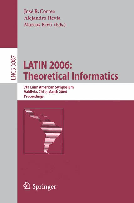 Cover of 'LATIN 2006: Theoretical Informatics'