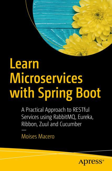 Cover of 'Learn Microservices with Spring Boot'