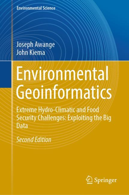 Cover of 'Environmental Geoinformatics'