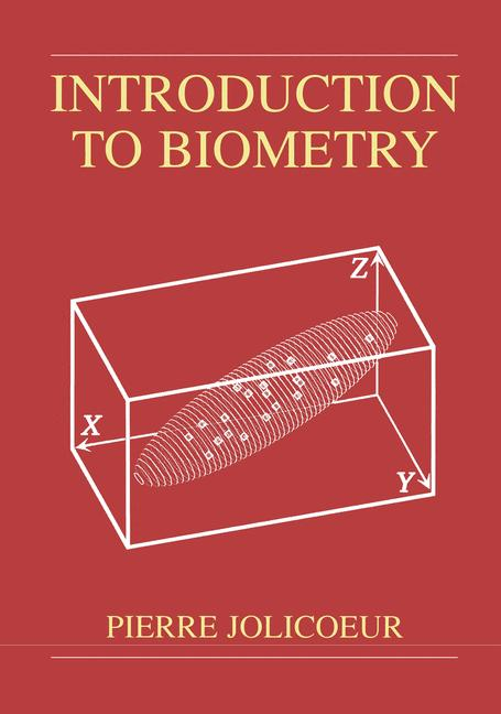 Cover of 'Introduction to Biometry'