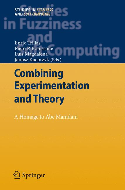 Cover of 'Combining Experimentation and Theory'