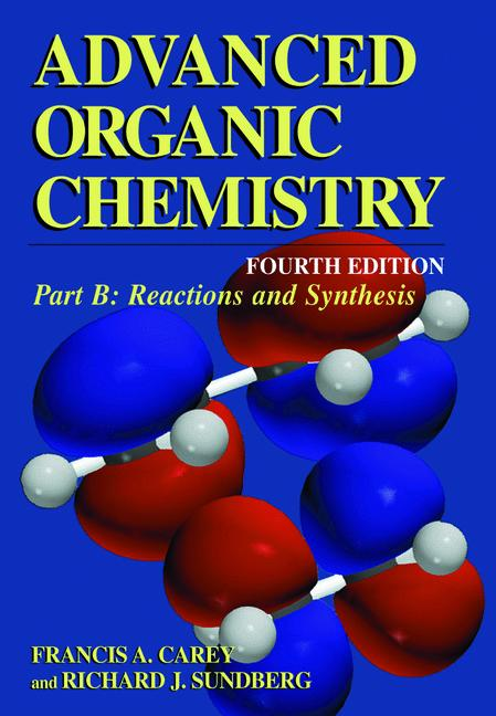 Cover of 'Advanced Organic Chemistry'