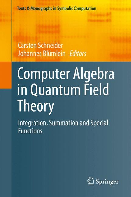 Cover of 'Computer Algebra in Quantum Field Theory'