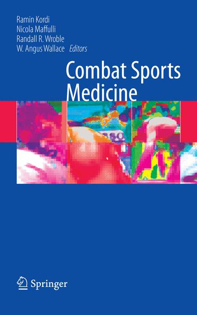 Cover of 'Combat sports medicine'