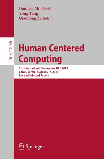 Cover of 'Human Centered Computing'