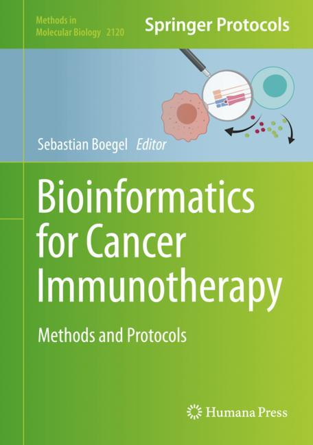 Cover of 'Bioinformatics for Cancer Immunotherapy'