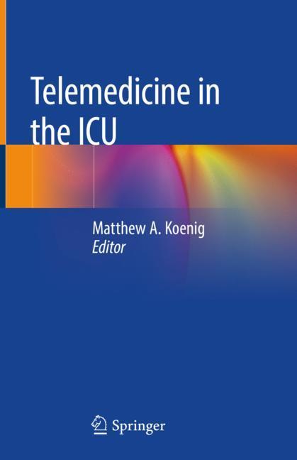 Cover of 'Telemedicine in the ICU'