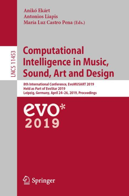 Cover of 'Computational Intelligence in Music, Sound, Art and Design'