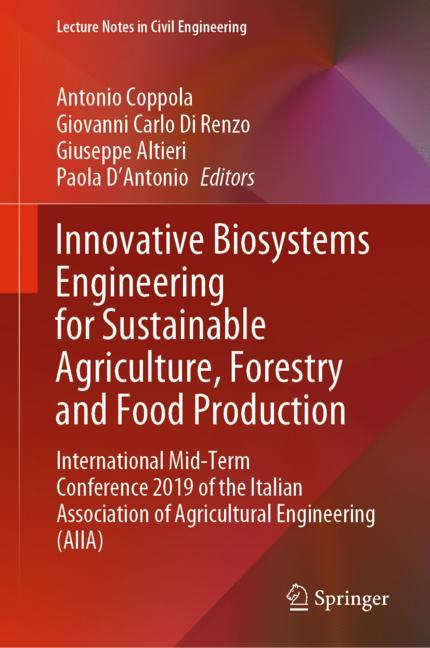 Cover of 'Innovative Biosystems Engineering for Sustainable Agriculture, Forestry and Food Production'