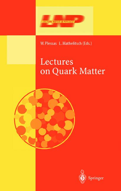 Cover of 'Lectures on Quark Matter'