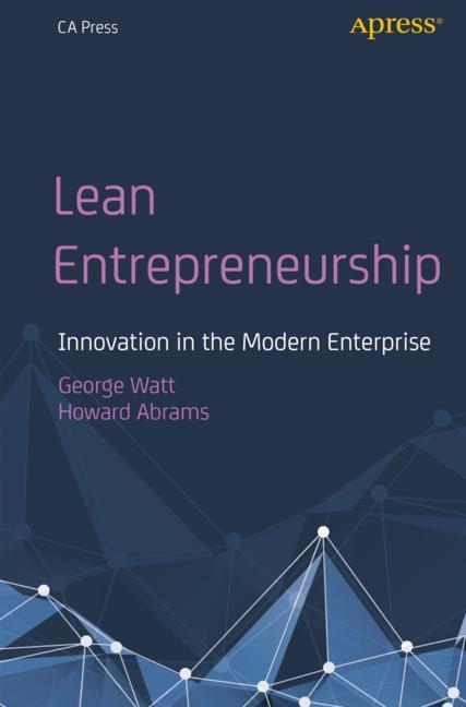Cover of 'Lean Entrepreneurship'