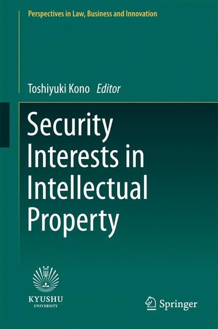 Cover of 'Security Interests in Intellectual Property'