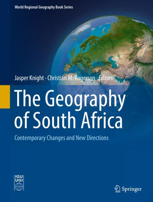 Cover of 'The Geography of South Africa'