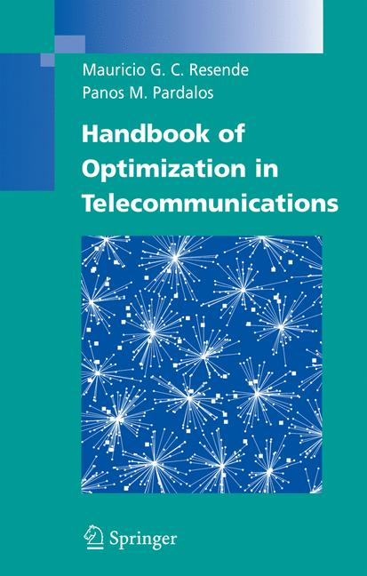Cover of 'Handbook of Optimization in Telecommunications'