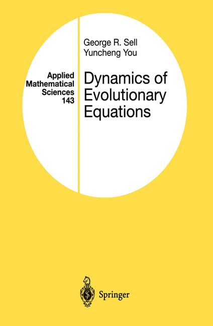 Cover of 'Dynamics of Evolutionary Equations'