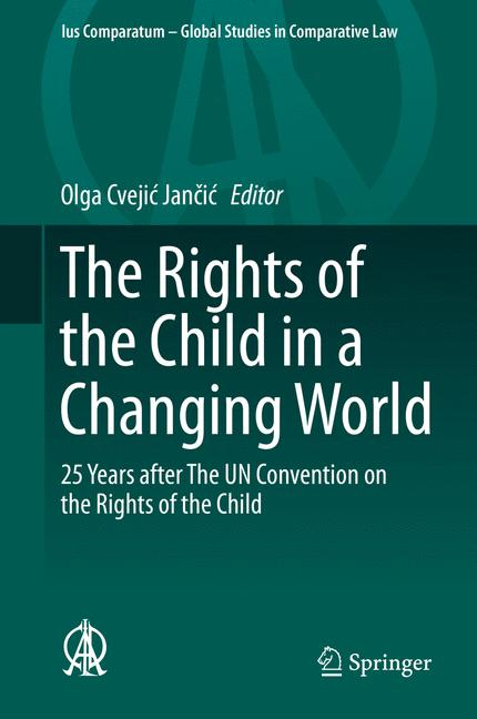 Cover of 'The Rights of the Child in a Changing World'