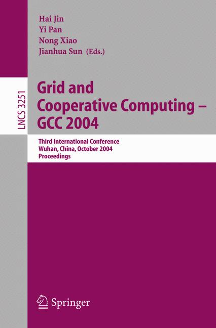 Cover of 'Grid and Cooperative Computing - GCC 2004'