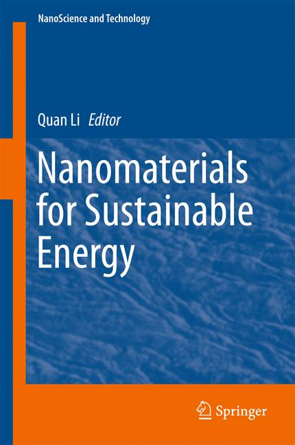 Cover of 'Nanomaterials for Sustainable Energy'