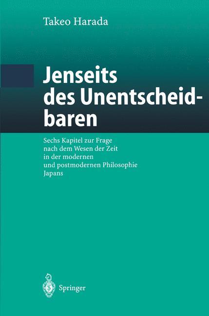Cover of 'Jenseits des Unentscheidbaren'