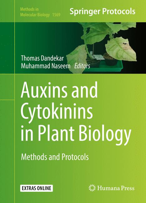 Cover of 'Auxins and Cytokinins in Plant Biology'