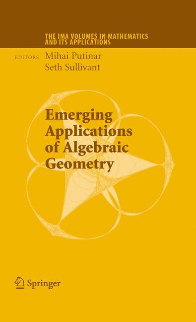 Cover of 'Emerging Applications of Algebraic Geometry'