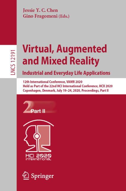 Cover of 'Virtual, Augmented and Mixed Reality. Industrial and Everyday Life Applications'